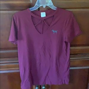 Pink brand t shirt. Great condition